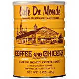 Half a Dozen Cans (6 Cans) of Coffee Du Monde - 15 oz. cans