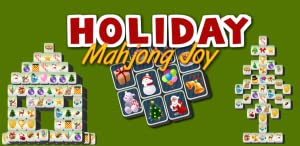 Mahjong Holiday Joy by F. Permadi