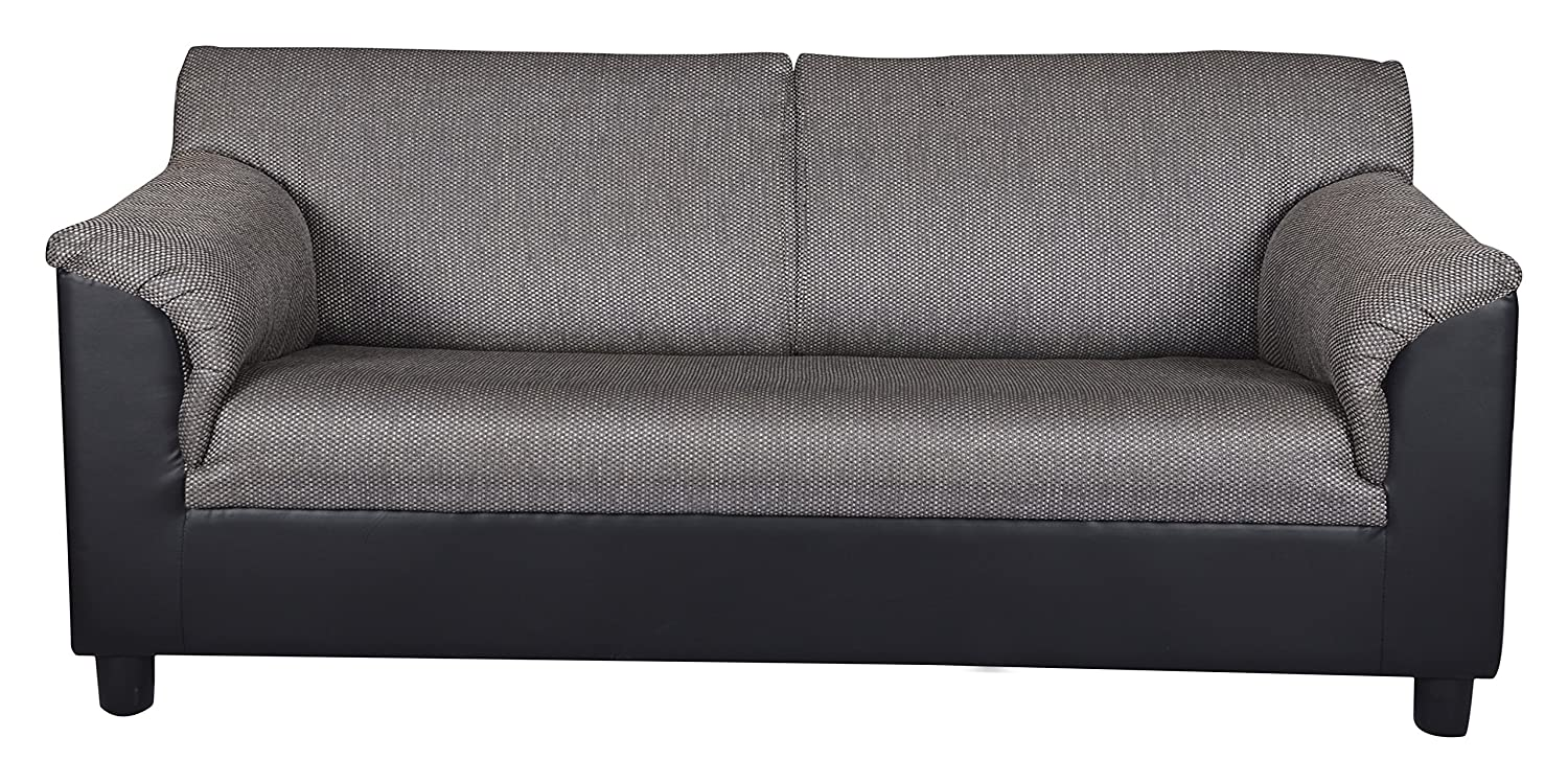 Kurl On Toledo Plus Three Seater Sofa Black Best Home