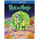 Rick & Morty Blu-ray Disc