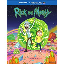 Rick and Morty The Complete First Season on Blu-ray