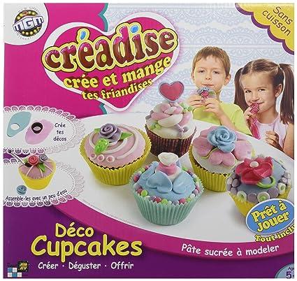 Mgm - 012424 - Kit De Loisirs Créatifs - Creadise - Boîte Déco Cupcake