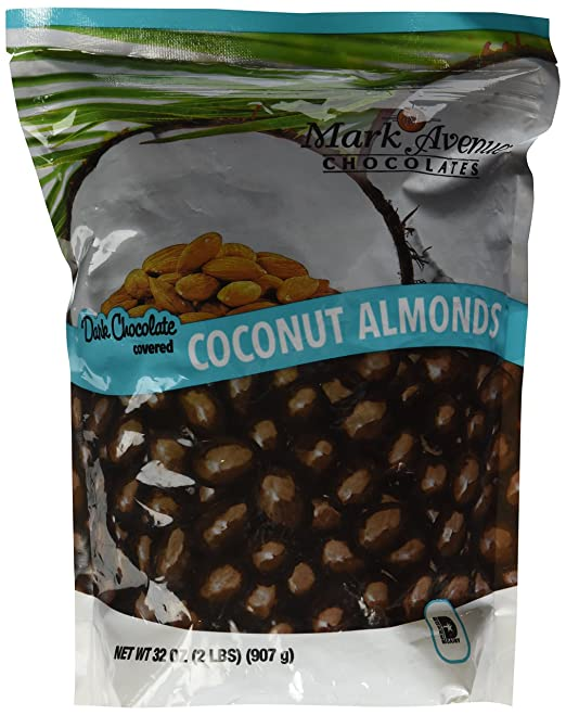 Dark Chocolate Coconut Almonds - Favorite Things 2015