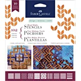 Faber-Castell Mixed Media Paper Stencils (102 - Classic) (Color: 102 - Classic)