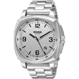 Nixon Men's 'Charger' Quartz Metal and Stainless Steel Watch, Color:Silver-Toned (Model: A1072130-00) (Color: Silver, Tamaño: One Size)
