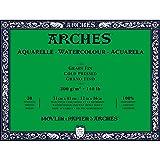 Arches Watercolor Paper Block, Cold Press, 12