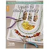 Leisure Arts Learn to Make Jewelry Instructional Book, Softcover, 32 Pages