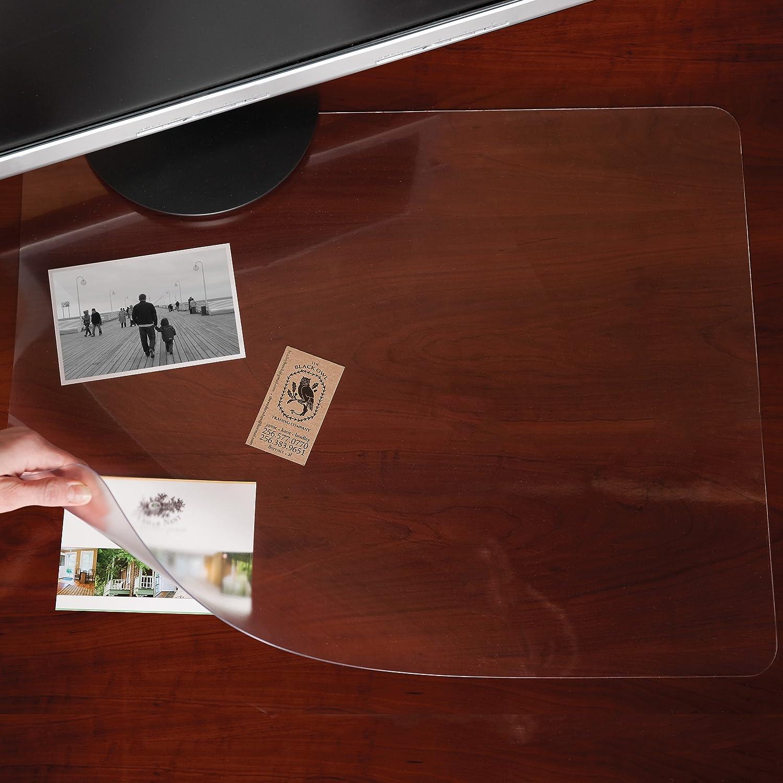 Es Robbins Rectangle Desk Pad Platic Clear Mat Protector
