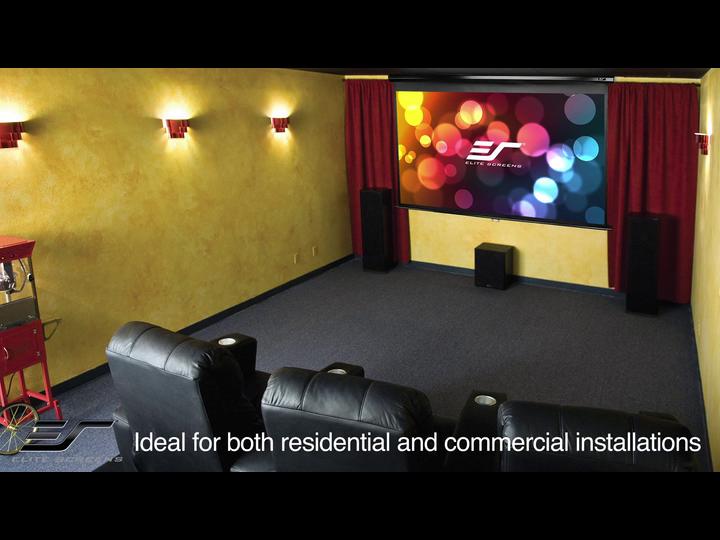 Investment Elite Screens Spectrum 100 Inch 16 9 4k Home