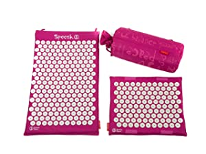 Spoonk 2pc set contains 1 regular Spoonk in the bag and 1 travel size neck pillow filled with ECO foam