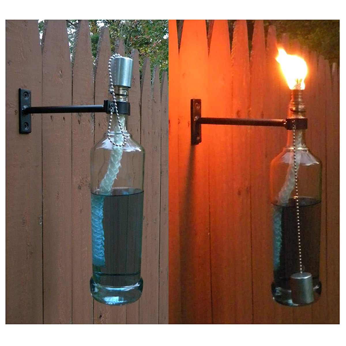 Wine Bottle Tiki Torch Hardware Kit Just Add Your Own