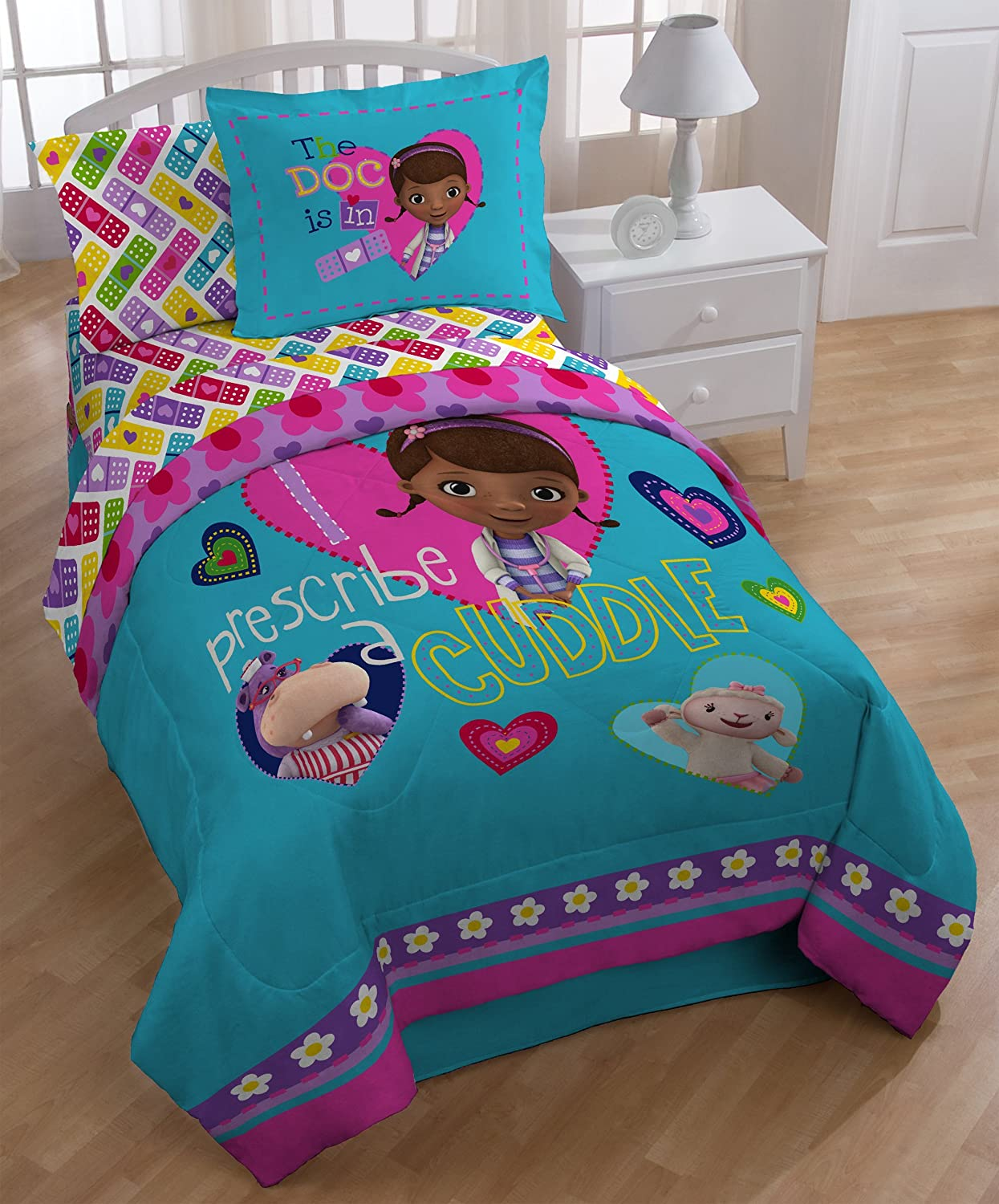 Doc Mcstuffins Bedding Totally Kids Totally Bedrooms Kids Bedroom Ideas