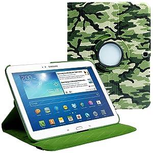 Stuff4 Cover - Funda para tablet Samsung Galaxy Tab 3 10.1 (***NO ADECUADO PARA GALAXY TAB 2 10.1 O GALAXY NOTE***), verde  Informática Comentarios de clientes y más Descripción