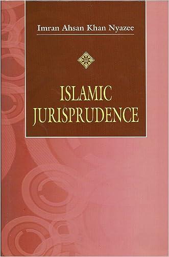 Islamic Jurisprudence written by Imran Ahsan Khan Nyazee
