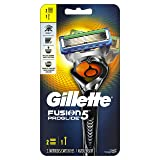 Gillette Fusion5 ProGlide Men's Razor, Handle & 2 Blade Refills (Packaging May Vary) (Tamaño: 1 Razor Handle + 2 Refills)