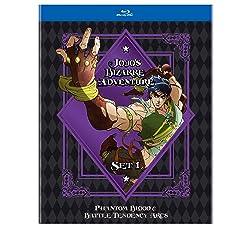JoJo�s Bizarre Adventure Set 1: Phantom Blood & Battle Tendency (BD) [Blu-ray]