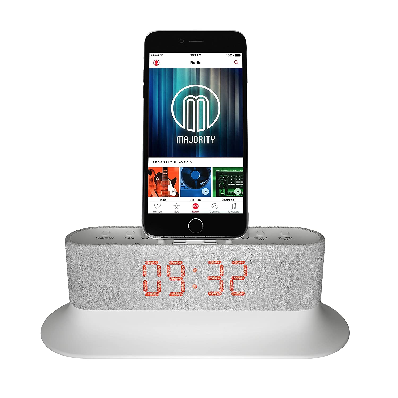 best iphone 6 plus docking station with alarm clock 2018 2020. Black Bedroom Furniture Sets. Home Design Ideas