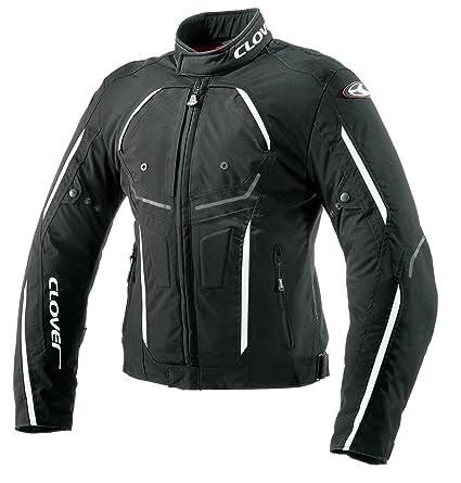 Clover 99178214_ 05nano-pulse Veste de moto Noir/Blanc Taille XL
