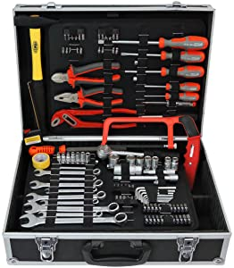 FAMEX 75865 Werkzeugkoffer 115/insgesamt 130tlg  BaumarktBewertungen und Beschreibung