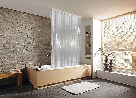 Kleine Wolke - Tenda a rullo per doccia di design grigio: Casa e ...