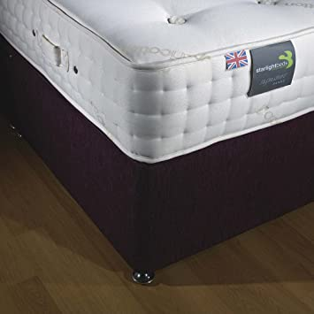 "Starlight Beds Platinum 3000 pocket sprung mattress 10"" fully supportive orthopaedic mattress (4ft6 Double mattress)"