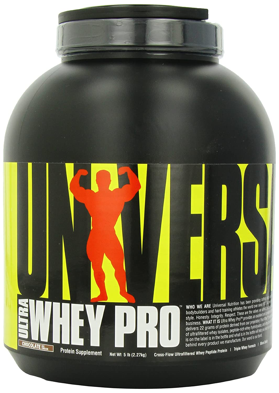 Universal Nutrition Ultra Whey Protein - 5 lb Chocolate Ice Cream