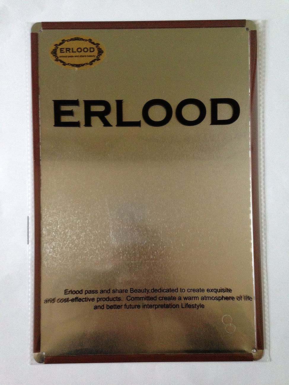 ERLOOD Motorcycle Retro Vintage Decor Metal Tin Sign 12 X 8 1