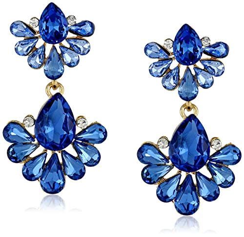 Statement Earrings Double Drop