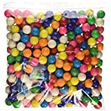 Dubble Bubble One Inch Gumballs Assorted Flavors 5 Pound Bag (Color: Basic, Tamaño: 1 Pack)