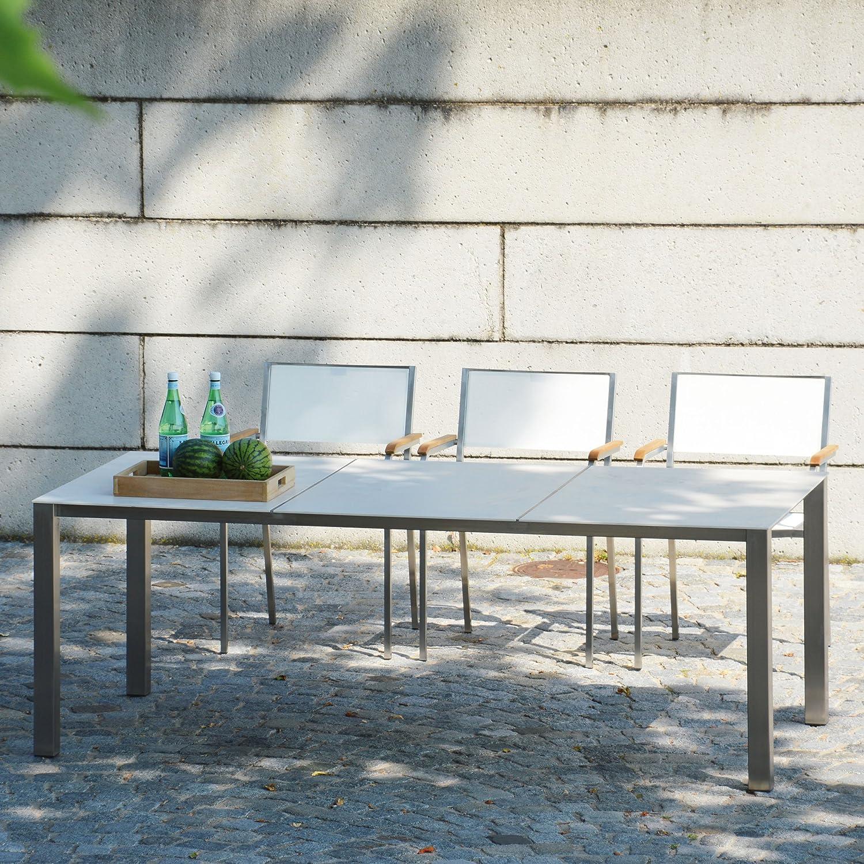 Lux Base Tisch Platte weiß 209 x 90 cm
