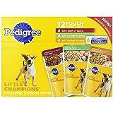 Pedigree Little Champions Pouch Wet Dog Food, 4-Pound Bag