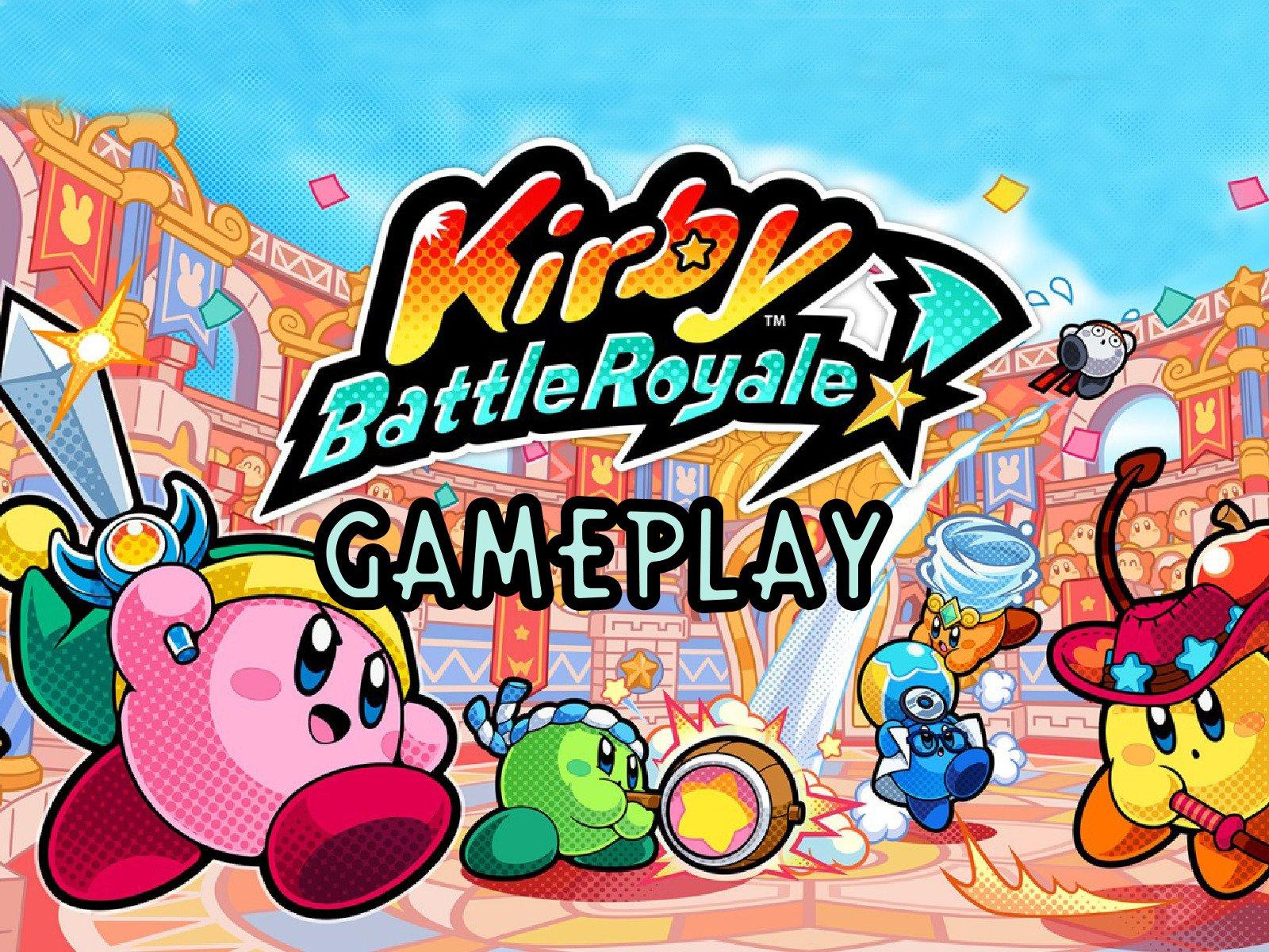 Clip: Kirby Battle Royale Gameplay - Season 1