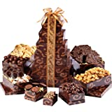 Broadway Basketeers Gourmet Chocolate Gift Tower (Kosher)