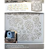 FolkArt Laser Cut Painting Stencil, 30948 Paisley Delight (Color: Paisley Delight)