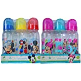 Disney Baby Mickey & Minnie Mouse 3-pack 9oz Bottle Set 0+ Months Medium Flow (Mickey & Minnie) (Color: Mickey & Minnie)