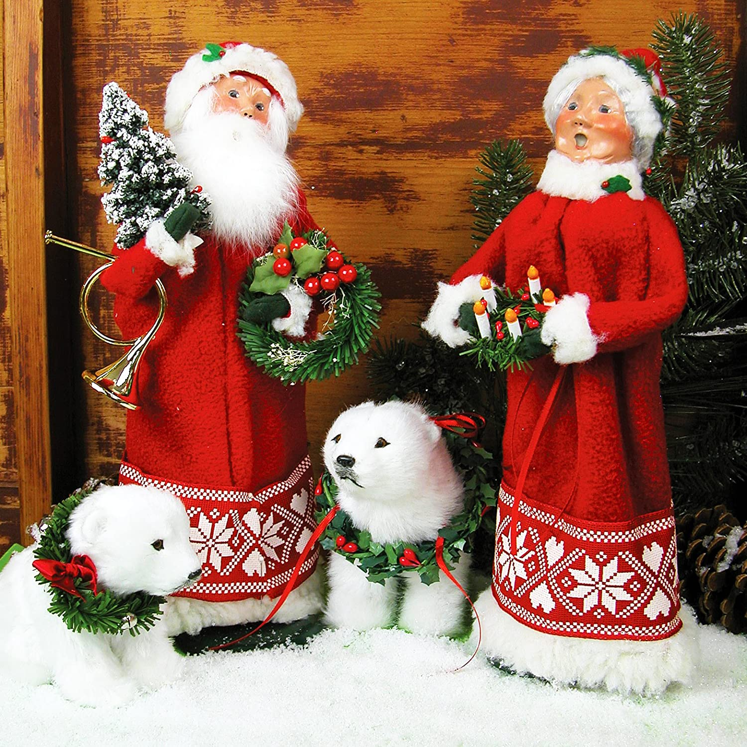 Scandinavian Santa and Mrs Claus