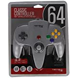 Retro-Bit Nintendo 64 Classic USB Enabled Controller (Wired) PC and MAC, Grey - Nintendo 64 (Color: gray)