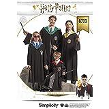 Simplicity Patterns US8723A Pattern Harry Potter Unisex Costumes (Color: Original Version)
