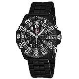 Luminox Men's 3082 Colormark Chronograph Analog Display Analog Quartz Black Watch (Color: black)