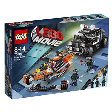 LEGO Movie - 70808 - Jeu De Construction - La Super Poursuite
