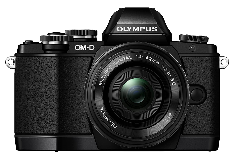 Digital Cameras OLYMPUS EM10 BLACK 16MPIXELS KIT 14-42MM