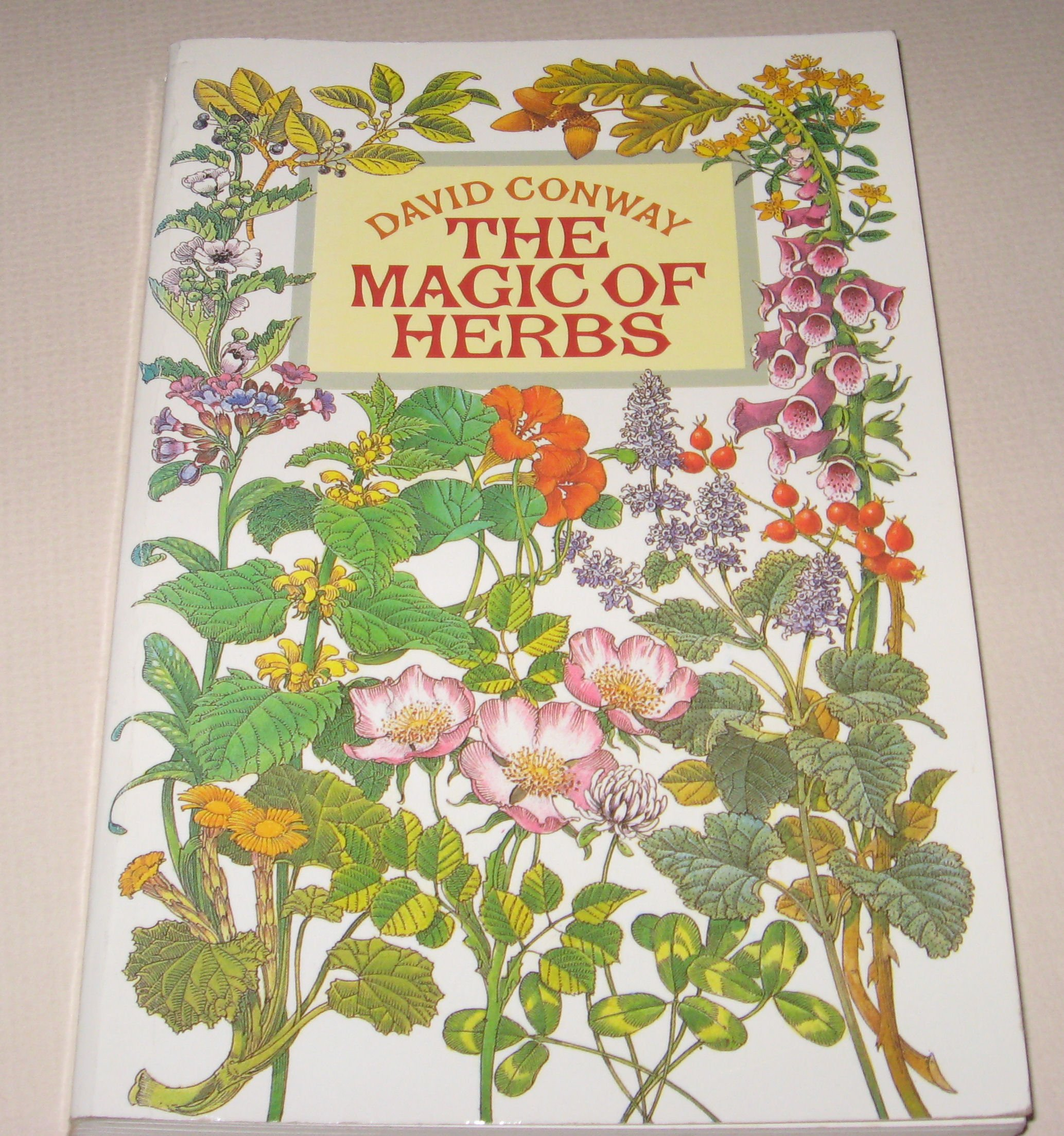 Magic of Herbs (Mayflower occult books), DAVID CONWAY