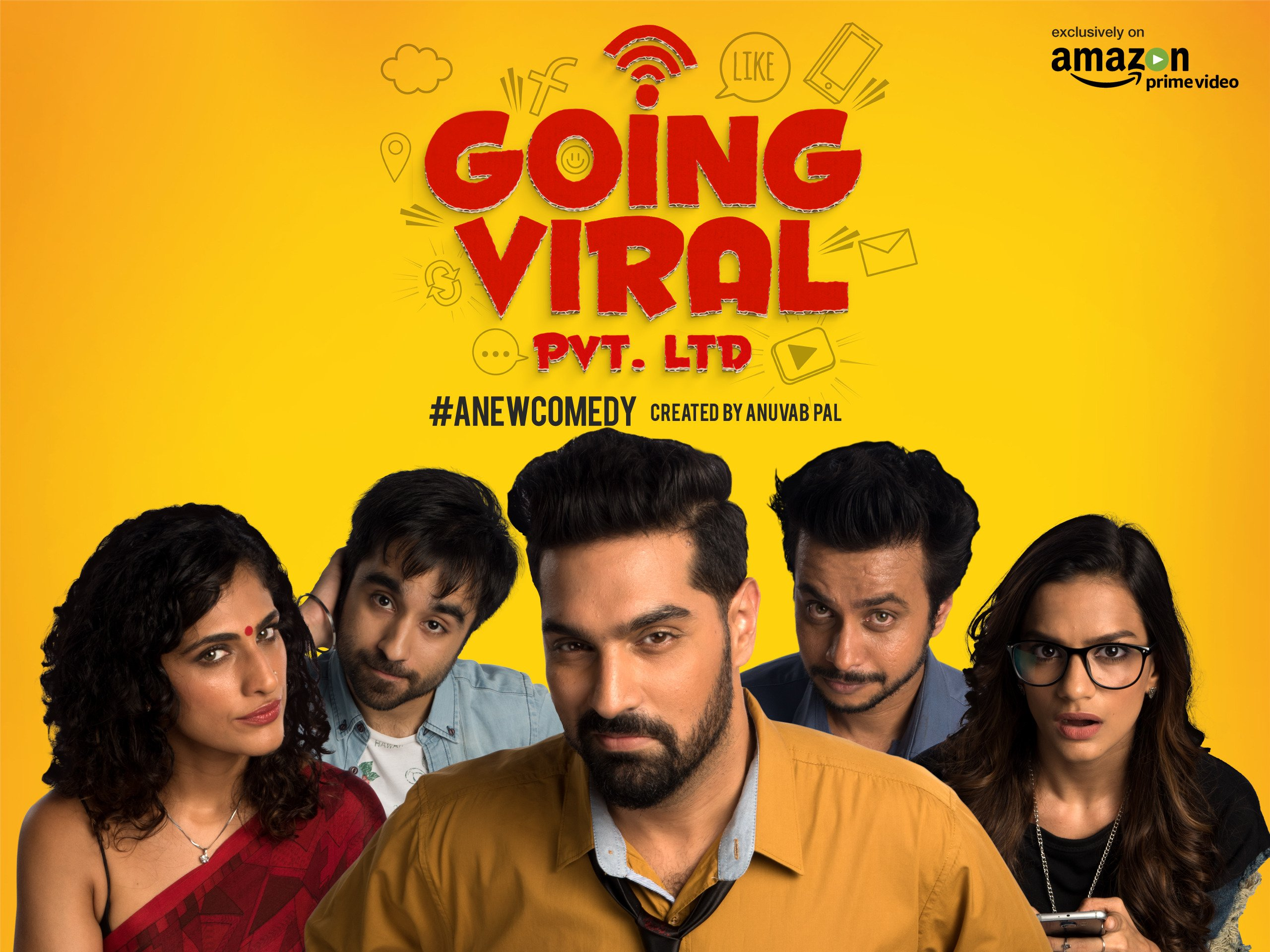 Going Viral Pvt. Ltd. - Season 1 on Amazon Prime Video UK