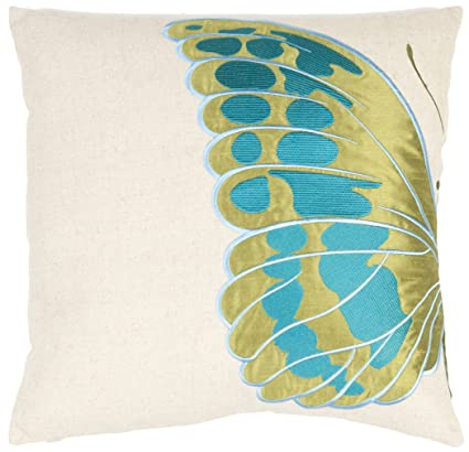 Safavieh Pillow Collection Majestic Butterfly