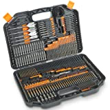 VonHaus 246-Piece Drill and Drive Bit Set with Titanium Coated HSS Bits and Storage Case for Drilling Metal, Masonry, Wood and Plastics (Tamaño: 246 Piece)