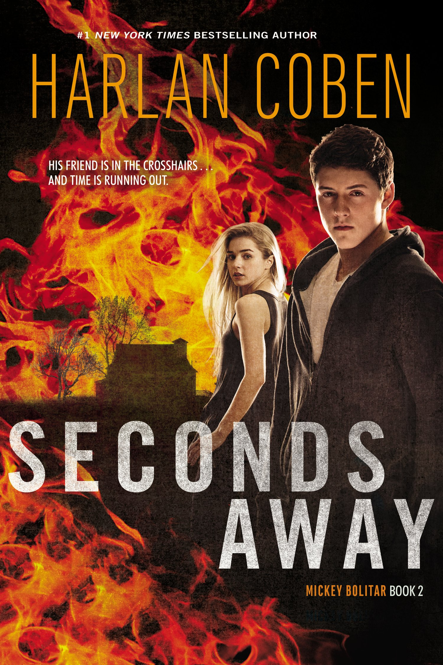 Seconds Away (Book Two): A Mickey Bolitar Novel  - Harlan Coben