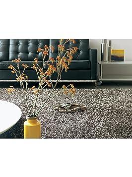 benuta tapis shaggy poils longs longues m ches m ches metallica pas cher anthracite. Black Bedroom Furniture Sets. Home Design Ideas