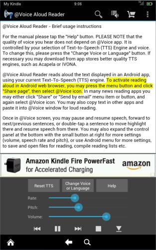 @Voice Aloud Reader - read aloud made by Hyperionics from