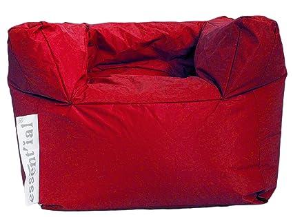 Essential ES001084 Poltrona, Rosso Colore Vuota