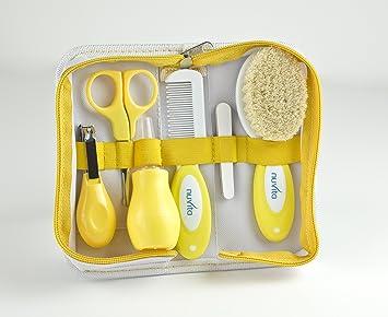 nuvita kit de toilette b b b b jaune b b s pu riculture m116. Black Bedroom Furniture Sets. Home Design Ideas